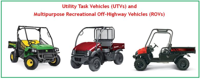 UTVs and ROVs